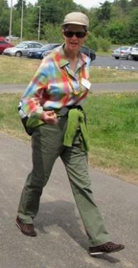 Laura Gould 07-2013-walking