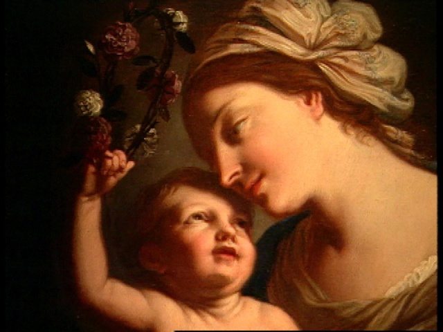 Virgin and Child, by Elisabetta Sirani, 1663, Natl Museum of Women in the Arts