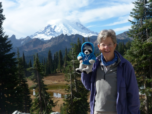 Parky at Mount Rainier, WA.