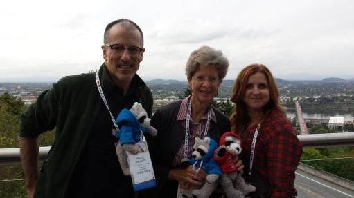 Bruce Ballard, Laura, and Allison Smith