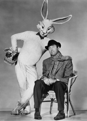 James Stewart and Harvey Rabbit