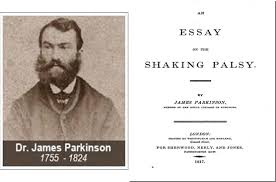 Parkinson portrait and title