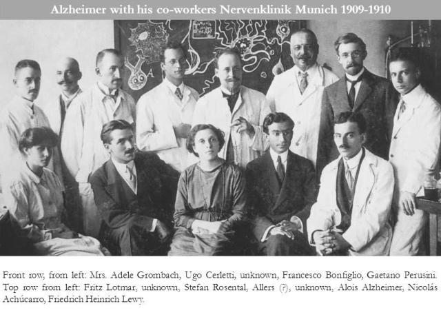 Alzheimer, Lewy clinic 1909 w caption