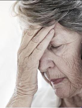 worried senior